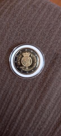 Moneda De España Conmemorativa.