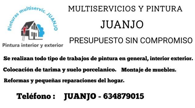 PINTOR MULTISERVICIOS JUANJO - foto 1