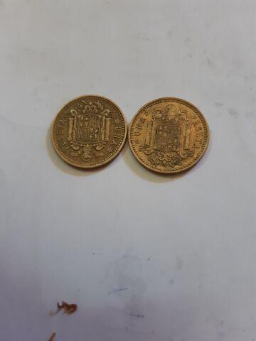 Monedas Una Peseta  1966