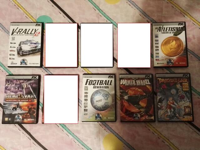 LOTE DE JUEGOS PARA PC FX - foto 1