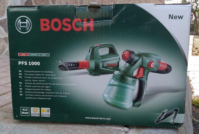 Pistola Pintura Bosch