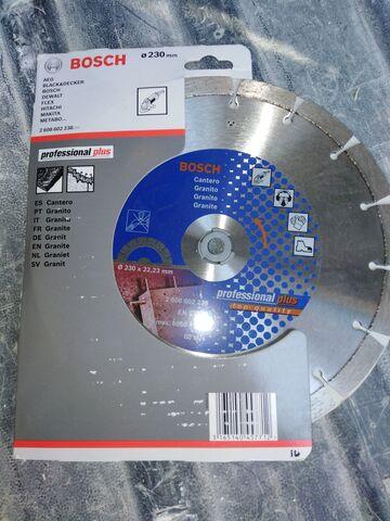 Disco Corte Granito Radial 230