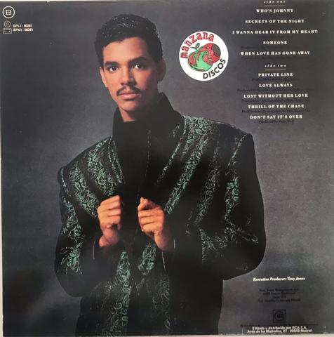VINILO LP DE EL DEBARGE [1986] - foto 2