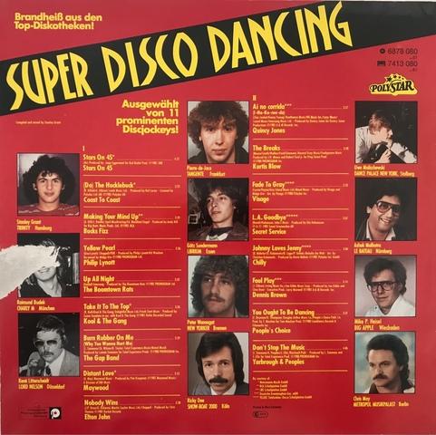 VINILO LP SUPER DISCO DANCING DE LOS 80 - foto 2