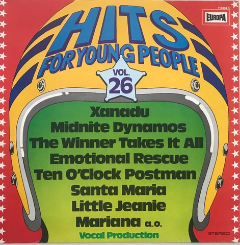 LP HITS FOR YOUNG PEOPLE VOLUMEN 26 - foto 1