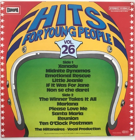 LP HITS FOR YOUNG PEOPLE VOLUMEN 26 - foto 2