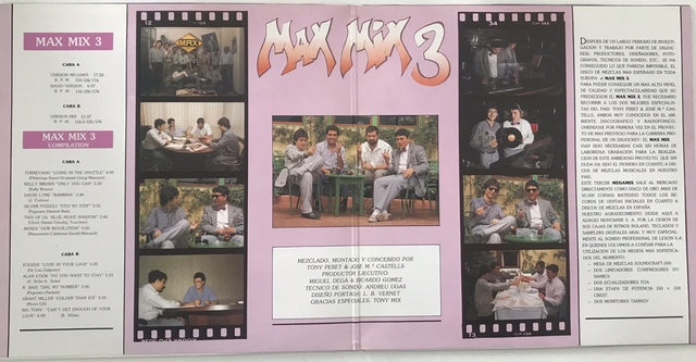 DOBLE LP MAX MIX 3 [1986] - foto 2
