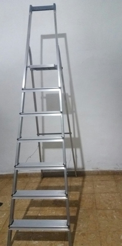 Escalera Aluminium 7 Peldaños