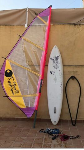 EQUIPO COMPLETO DE WINT SURF - foto 1