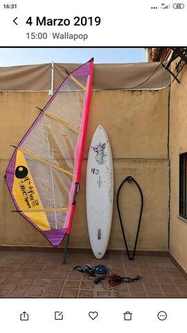EQUIPO COMPLETO DE WINT SURF - foto 4
