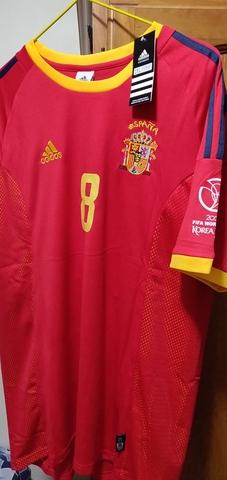 Camiseta Fútbol De España 2002 Baraja