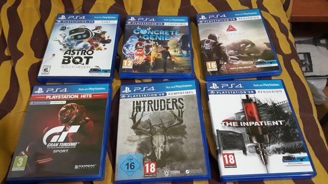 PS4 VR 6 JUEGOS - foto 1