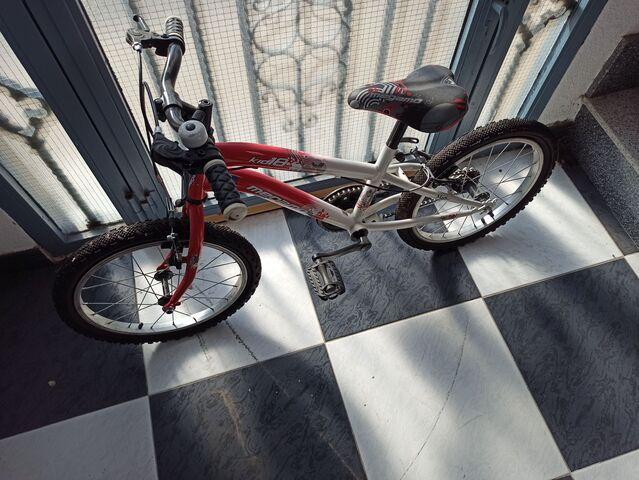 Bicicleta Megamo Kid 18 Roja