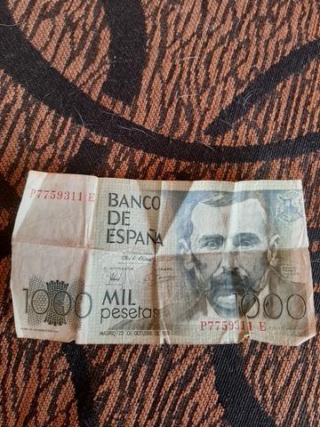 Vendo Billete De 1.000 Pesetas