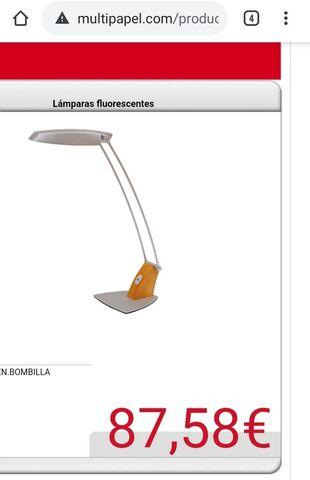 LAMPARA DE MESA FLUOTEN - foto 3
