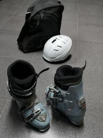Botas De Ski,  Con Bolsa Transporte