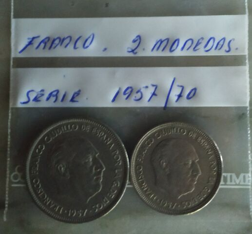 Franco Serie 1957/69.