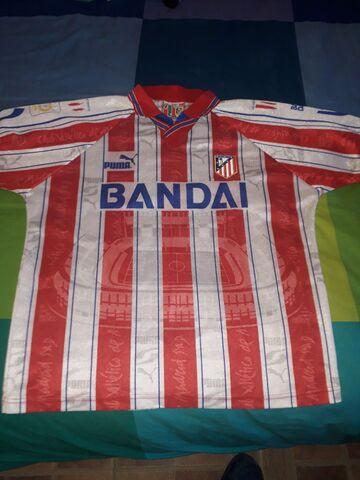 Camiseta Atletico Madrid Temp 95/96