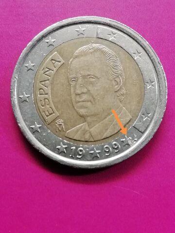 2  Moneda Española 1999