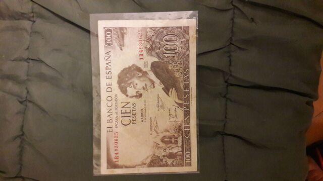 Billetes Antiguas Pesetas