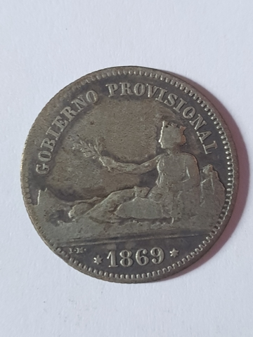 Peseta Gobierno Provisional