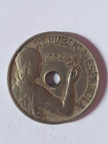 Moneda 25 Cent.