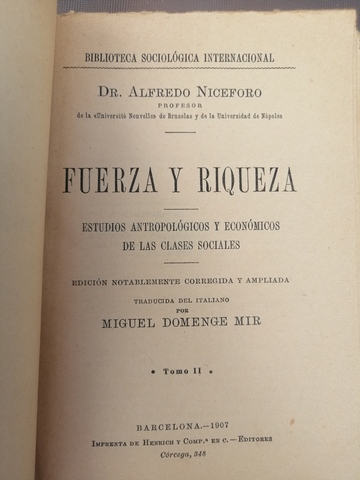 Libro De 1907