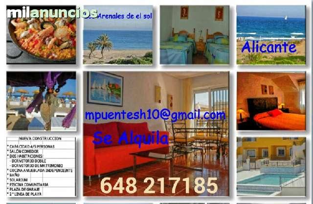 ALQUILER  BUNGALOW LOS ARENALES DEL SOL - foto 2