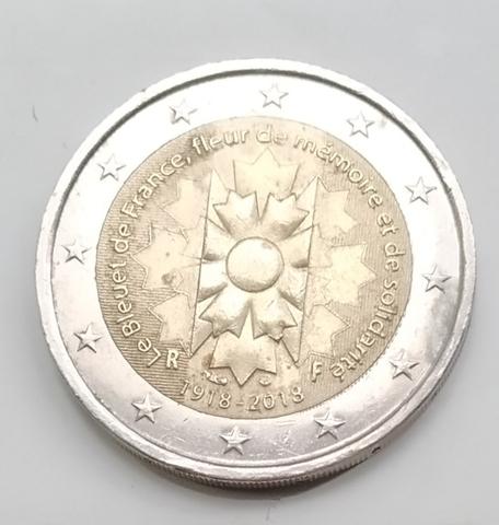 Moneda Conmemorativa 2 Euros Francia