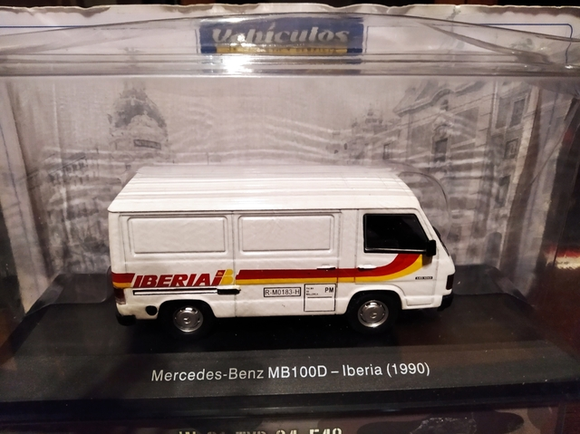 Furgoneta Mercedes Mb-100 Iberia 1990