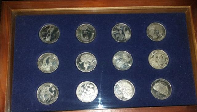 Coleccion De Monedas Del Real Madrid