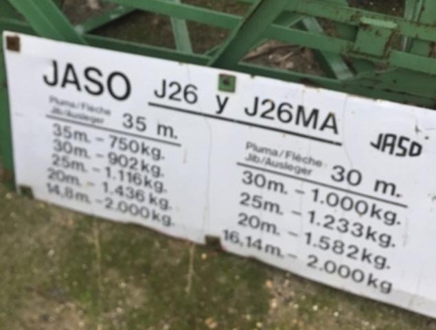 GRÚA TORRE JASO J26 - foto 2