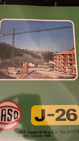 GRÚA TORRE JASO J26 - foto 4