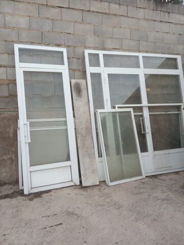2 Puertas Y 2 Ventanas De Aluminio