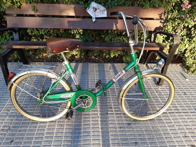 Bicicleta Clásica Plegable Torrot
