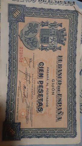 Billetes Antiguos