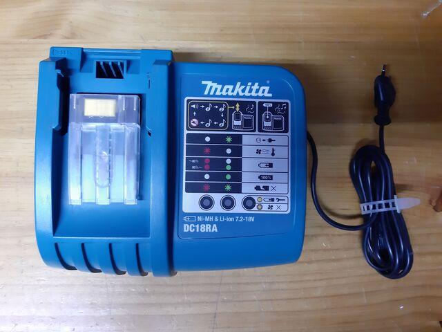 Cargador Baterias Makita Dc18Ra