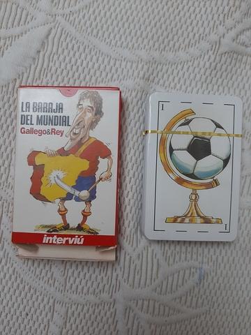 La Baraja Del Mundial Gallego &Rey