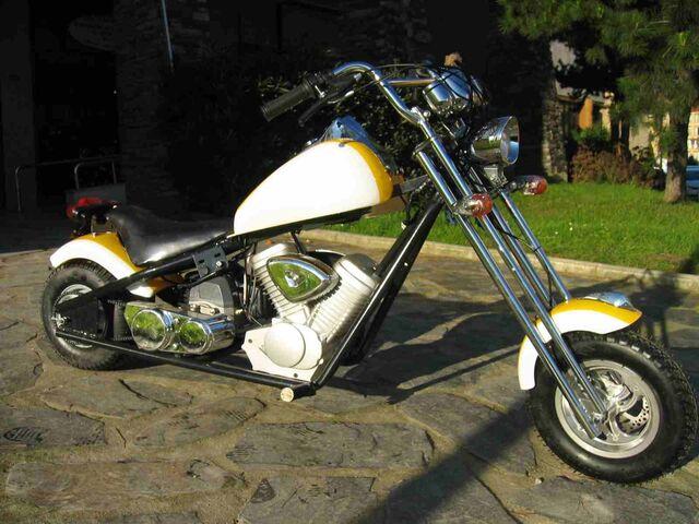 MINIMOTOS A MOTOR CHOOPER LIQUIDACION - foto 1