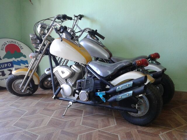 MINIMOTOS A MOTOR CHOOPER LIQUIDACION - foto 3