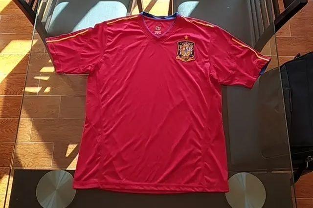 Camiseta De Fútbol De España Talla Xl