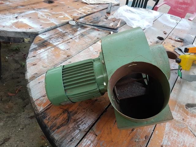 Turbina Con Motor De 380 Voltios