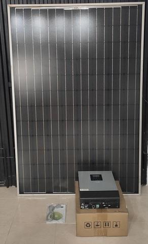 Placas Solares + Inverter
