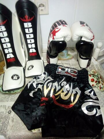 Equipo De Niño Para Kickboxing