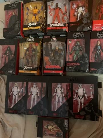 Figuras De Star Wars Y Legends Nuevas