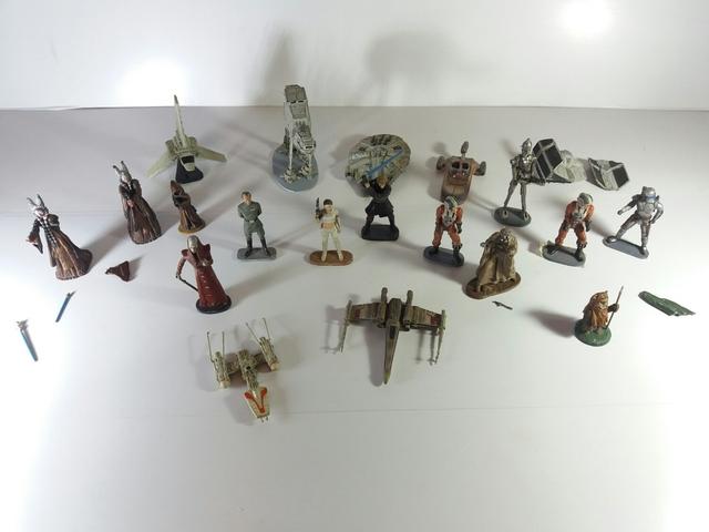 Lote De Figuras De Plomo Star Wars