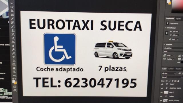 EUROTAXI SUECA ADAPTADO SILLA DE RUEDAS - foto 1