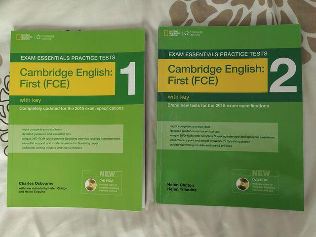 CAMBRIDGE ENGLISH:  FIRST (FCE) 1 Y 2 - foto 1