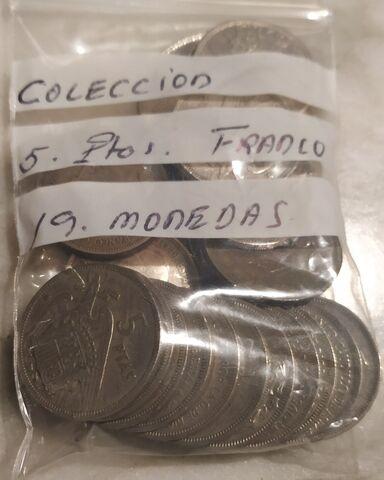 Colección 5 Pesetas Franco.