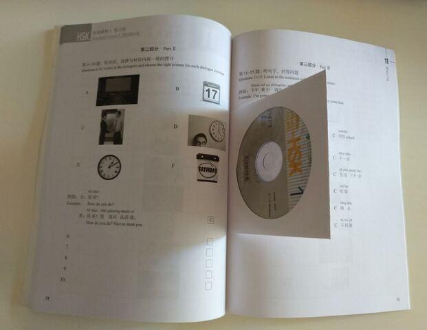 CHINO-HSK1.  WORKBOOK + CD MP3 A ESTRENAR - foto 2